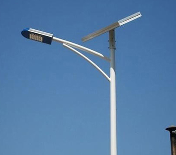 Solar street light pole Manufacturer in lucknow